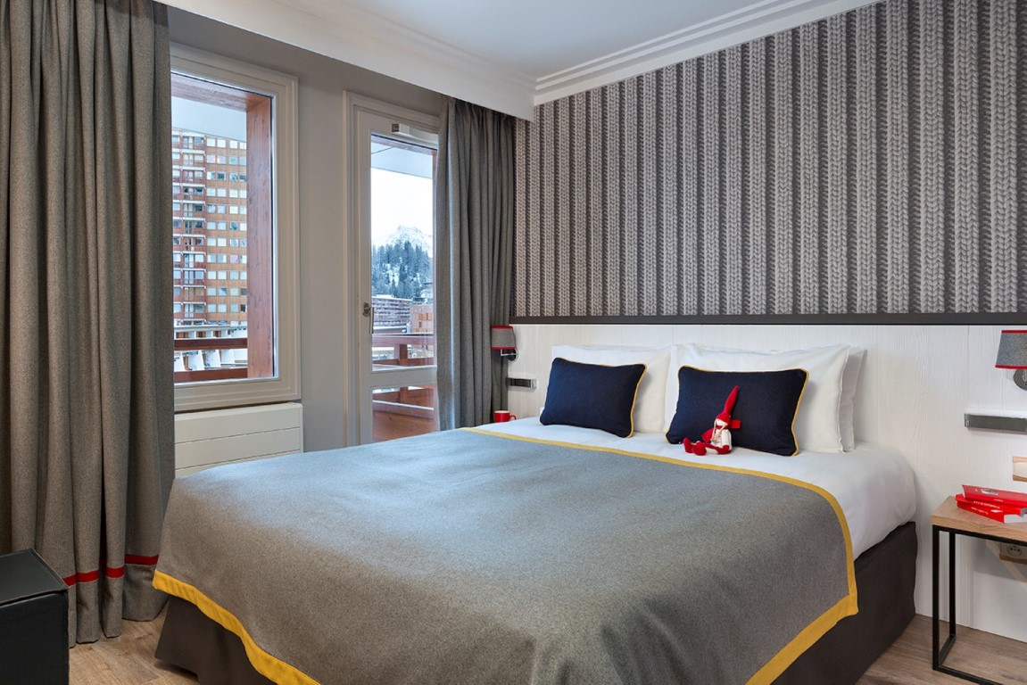 Chambres araucaria h tel et spa la plagne for Chambre 13 hotel