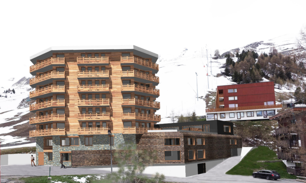 Araucaria Hotel & Spa La Plagne visuel façade