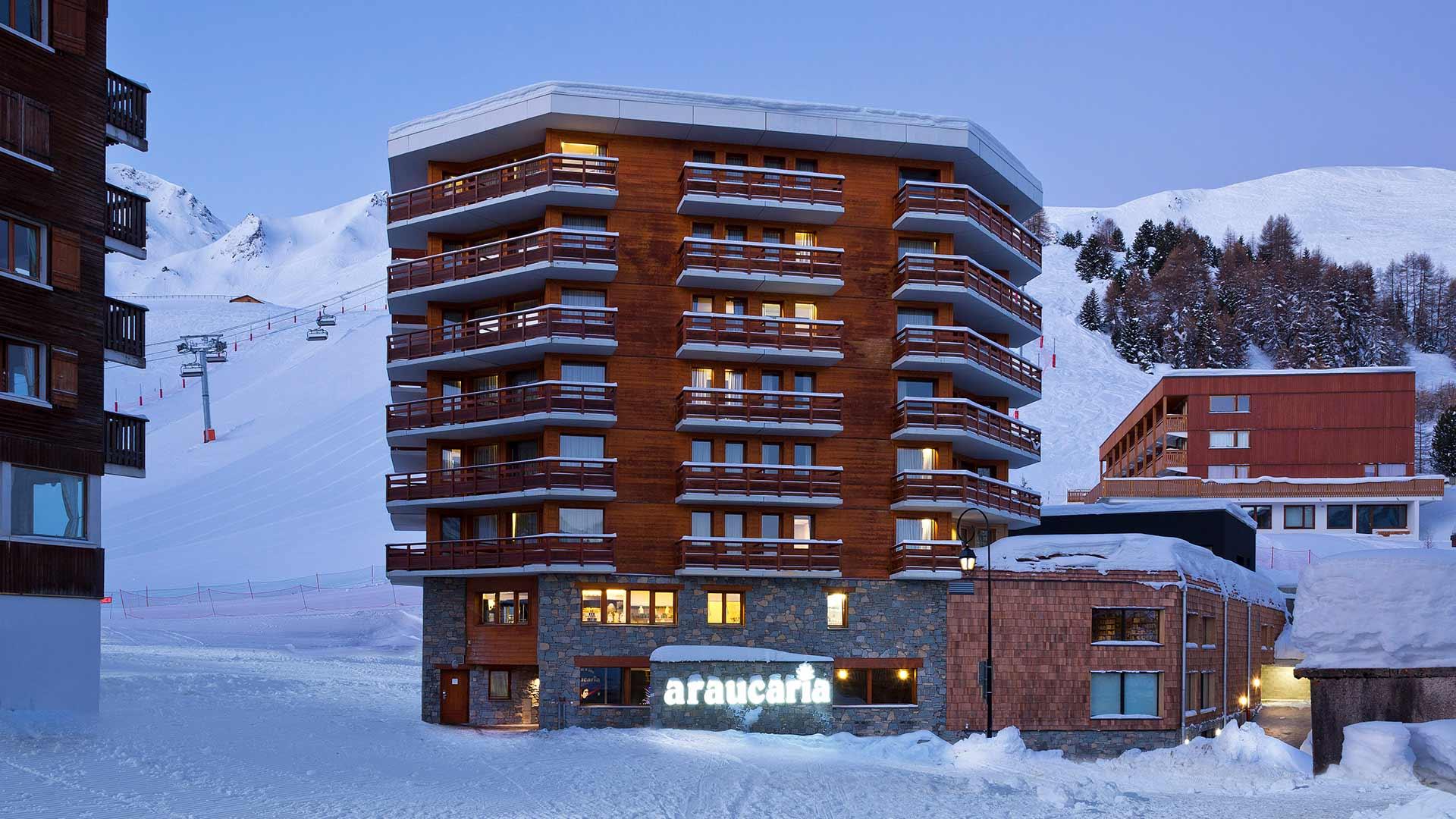 Araucaria Hotel & Spa**** - Façade Nuit