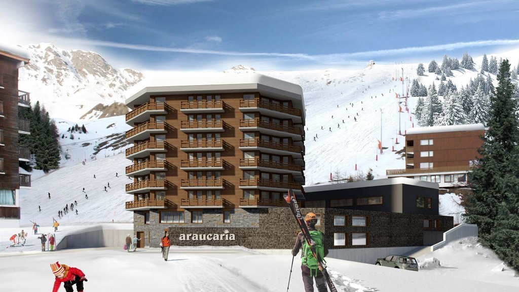 Araucaria Hotel & Spa**** - Façade