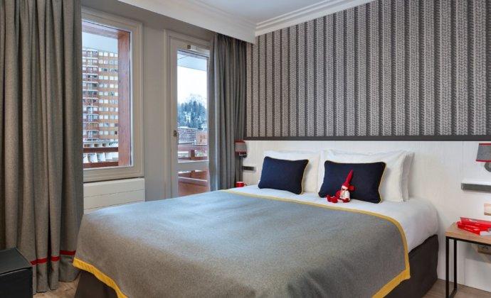 Araucaria Hotel & Spa La Plagne visuel vue chambre