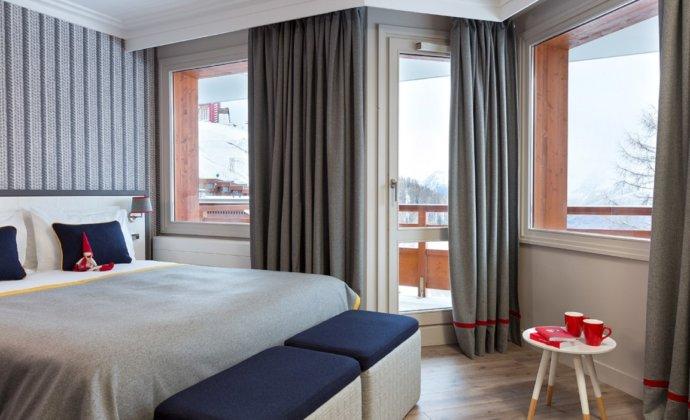 Araucaria Hotel & Spa La Plagne superior room