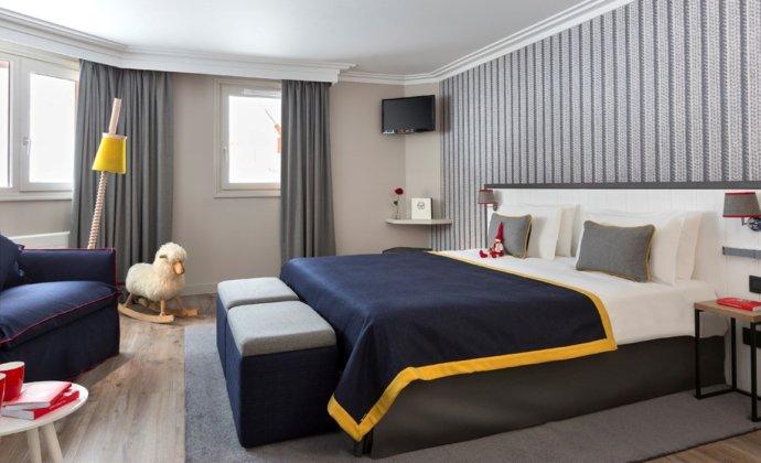 Araucaria Hotel & Spa La Plagne chambre familiale