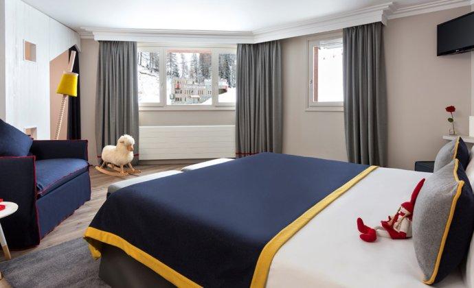 Araucaria Hotel & Spa La Plagne chambre famille