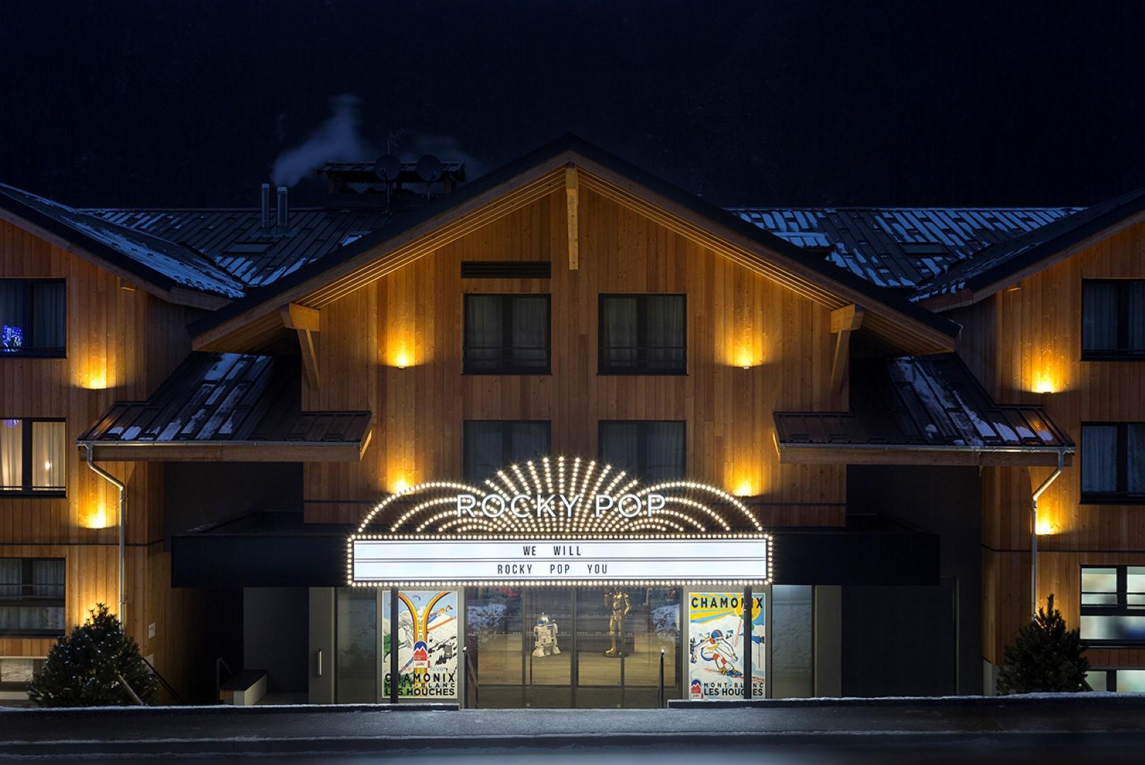 Araucaria Hotel & Spa**** - ROCKY POP HOTEL (Les Houches)