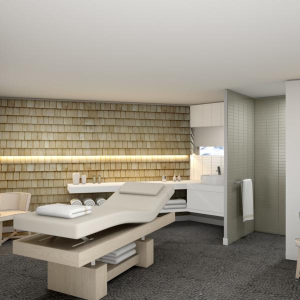 Araucaria Hotel & Spa La Plagne visuel cabine