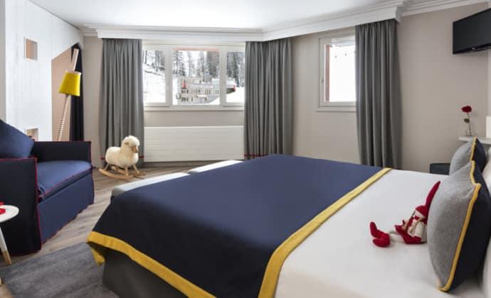 Araucaria Hotel & Spa La Plagne chambre avec vue