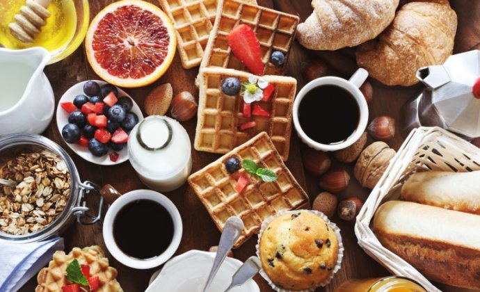 Araucaria Hotel & Spa La Plagne petit déjeuner