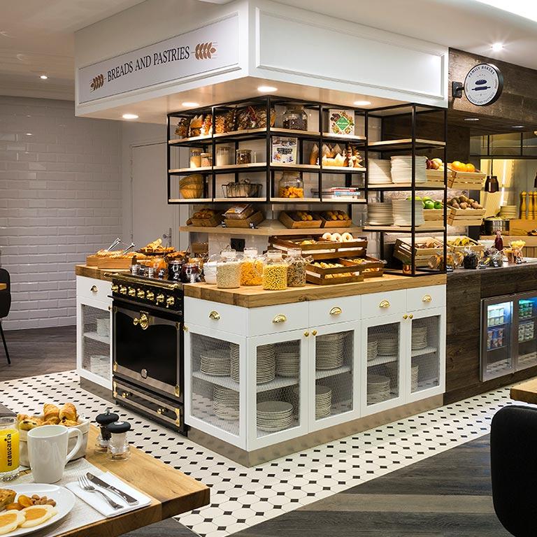 Araucaria Hotel & Spa - Buffet petit déjeuner