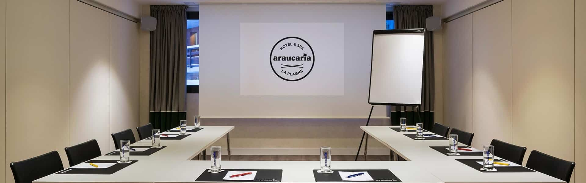 Araucaria Hotel & Spa La Plagne - salle de séminaire