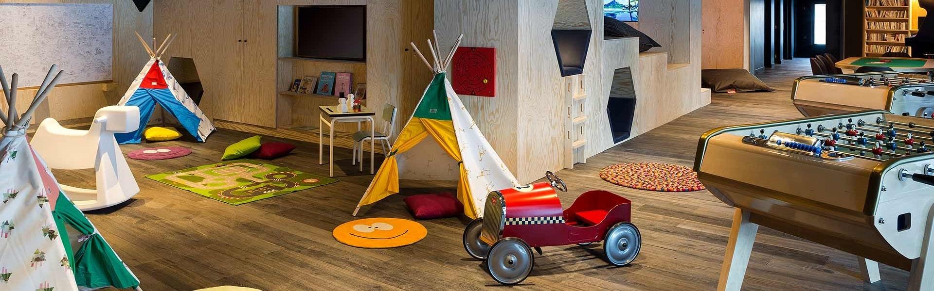 Araucaria Hotel & Spa La Plagne - espace enfants