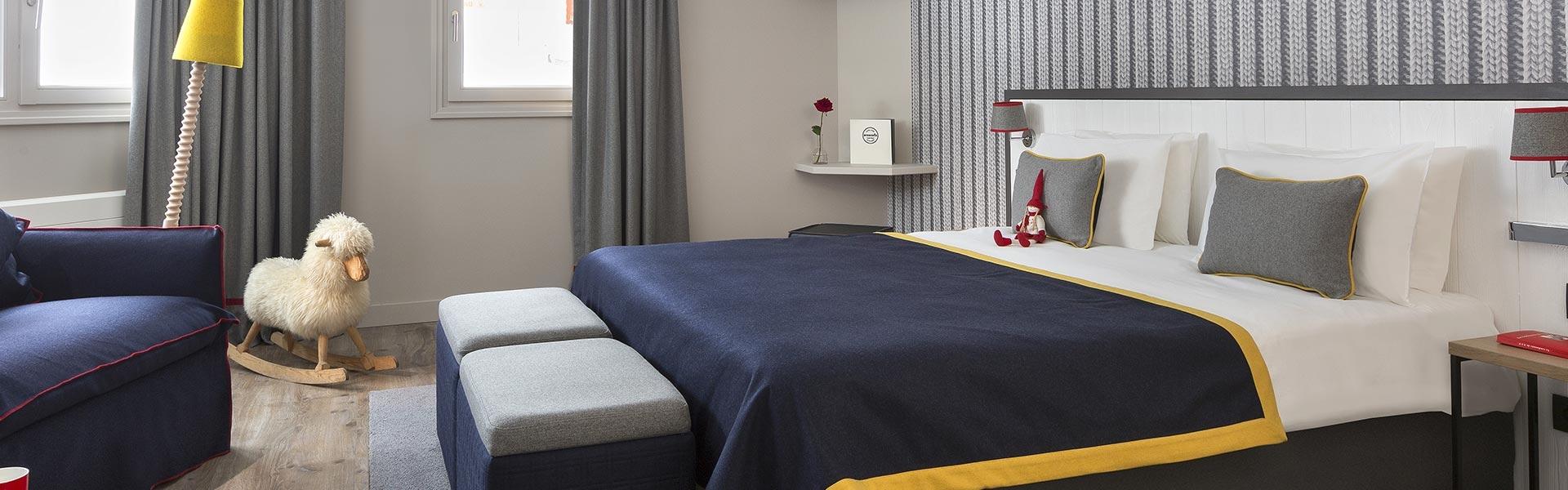 Araucaria Hotel & Spa La Plagne chambre