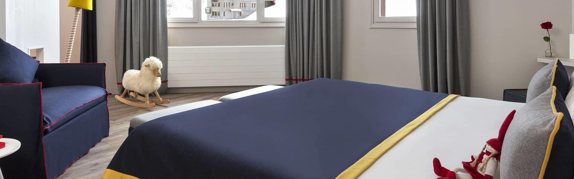 Araucaria Hotel & Spa La Plagne footer chambre