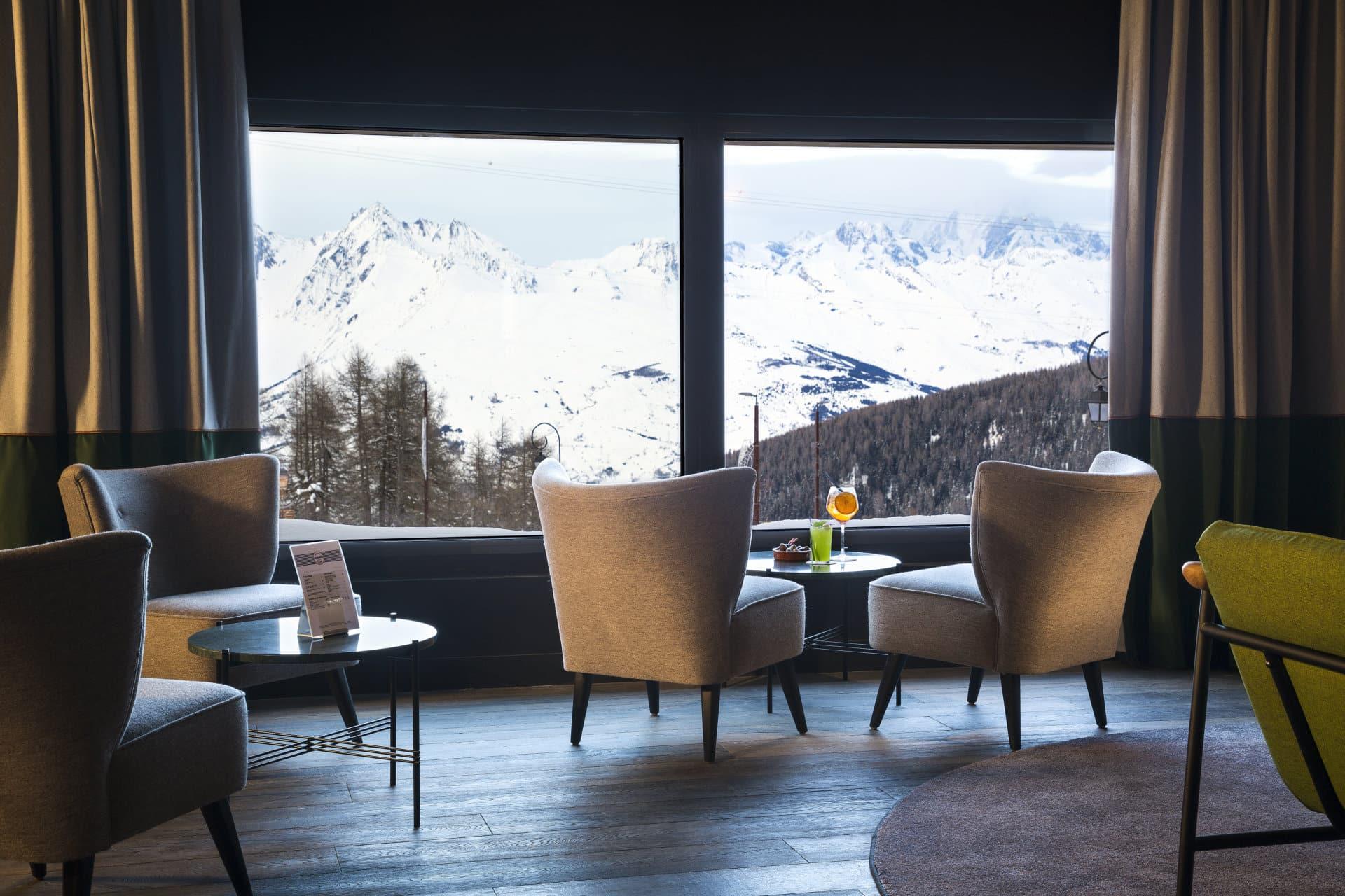 Araucaria Hotel & Spa La Plagne vue bar